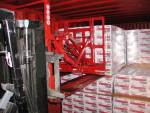 Używanie arkuszy transportowych Slip Sheet - Bolzoni Aureamo