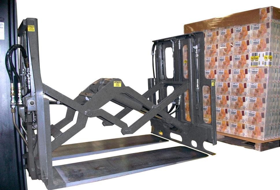 Używanie arkuszy transportowych zapomocą nakładek Push Pull