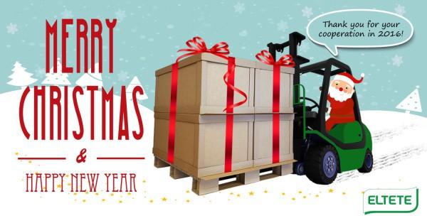 Wesołych Świąt od firmy Eltete